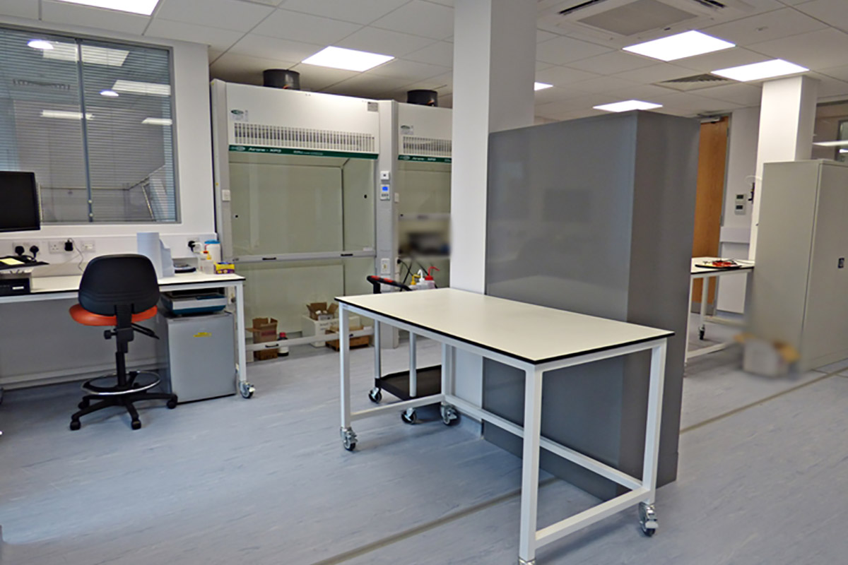 keit spectrometers office and laboratory fit out