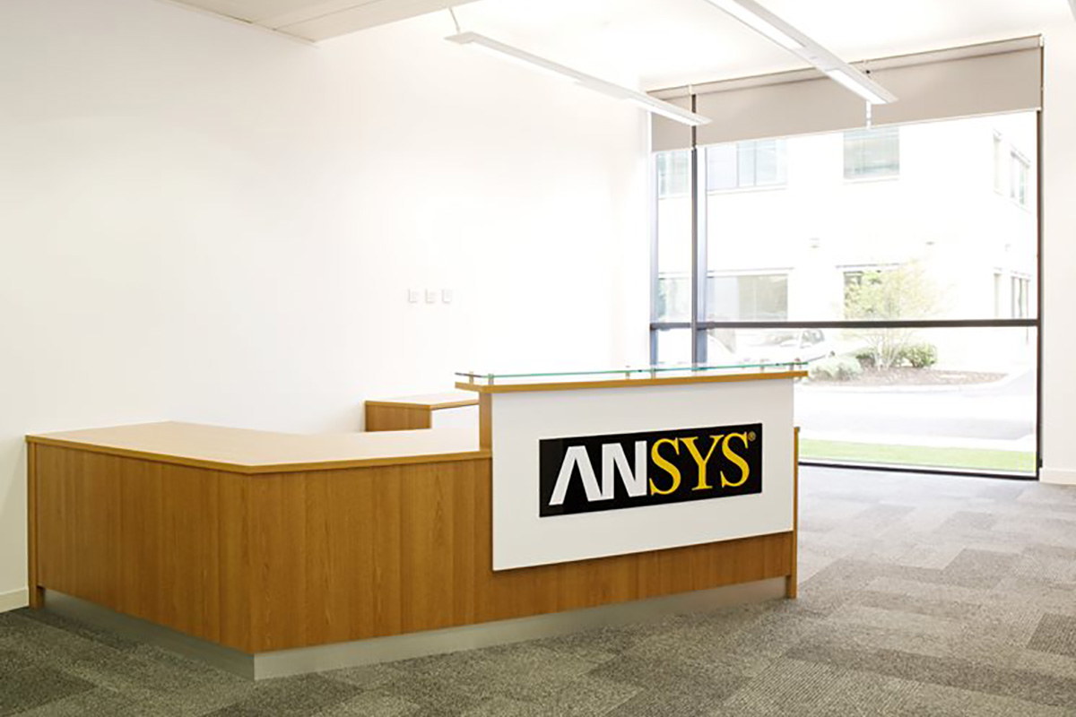 ansys office and laboratory fit out
