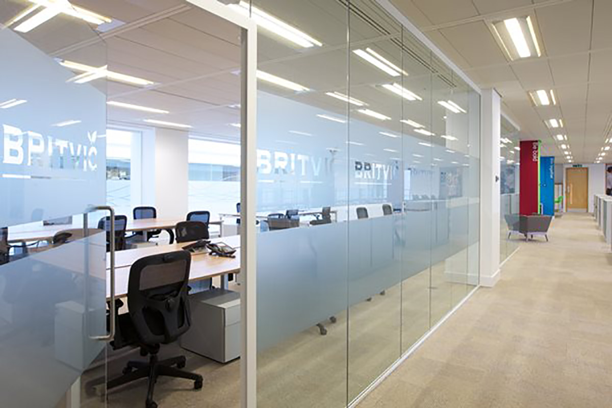 britvic office and laboratory fit out