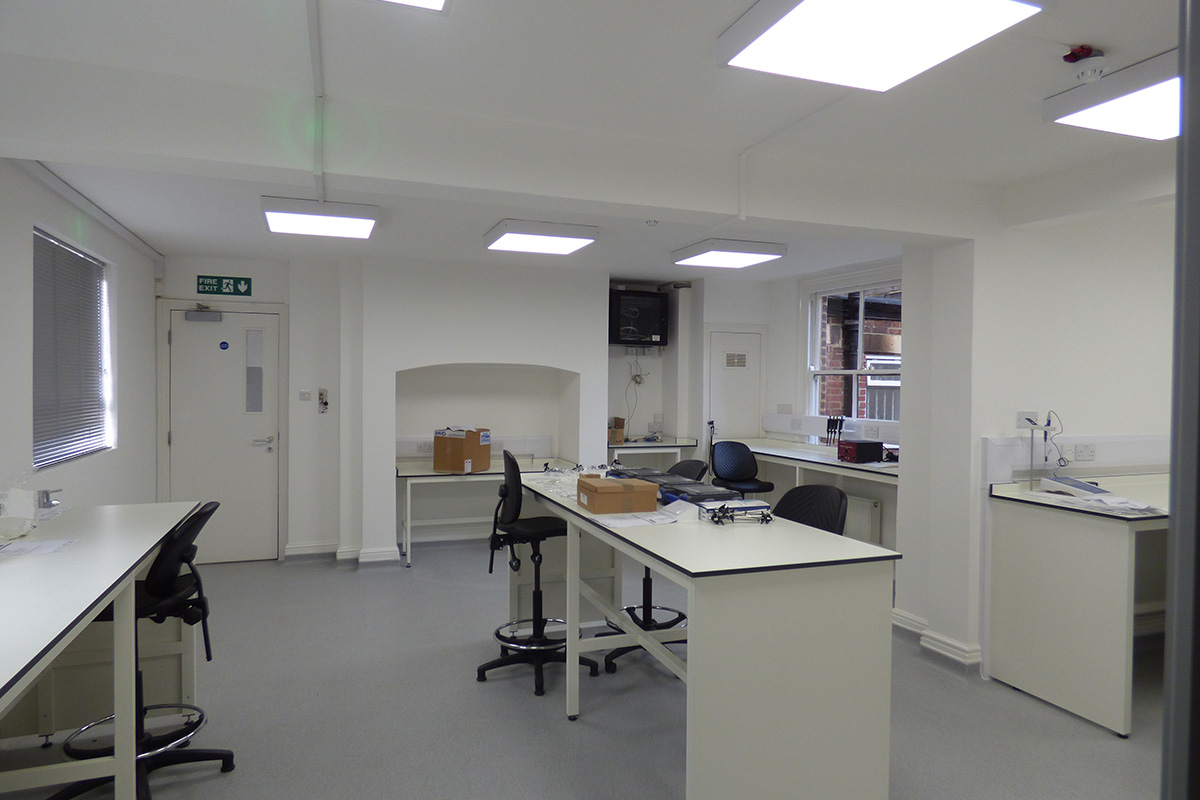 osler office and laboratory fit out