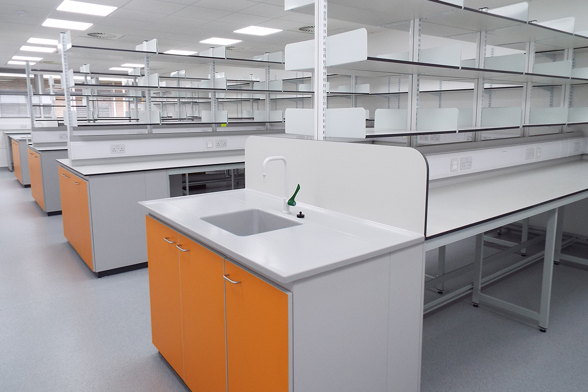 spybiotech laboratory design and fit out